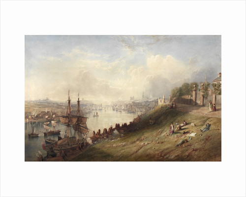 Newcastle from St Anne's by John Wilson Carmichael