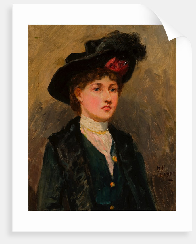 Elsie Wright by Ralph Hedley