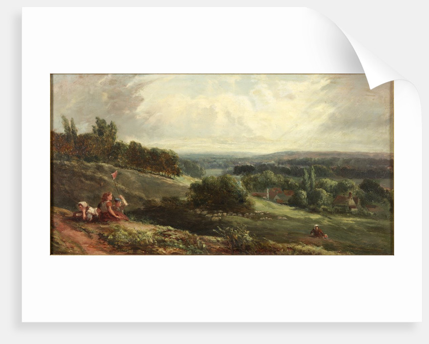 Landscape with Children by Samuel Bough