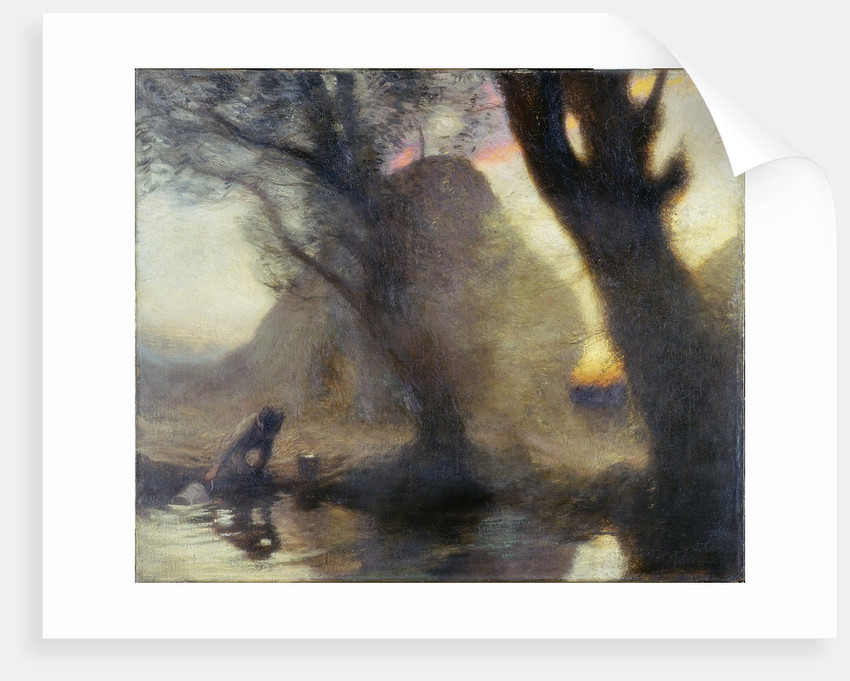 Dusk by Sir George Clausen