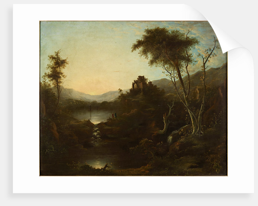 Landscape with Ruins by Sebastian Pether