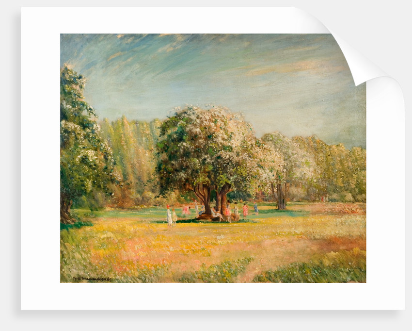 Blossom Time, Epping Forest by William Brown MacDougall