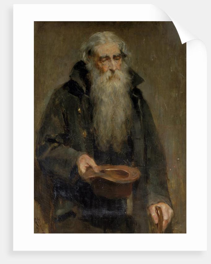 Blind Beggar by Ralph Hedley