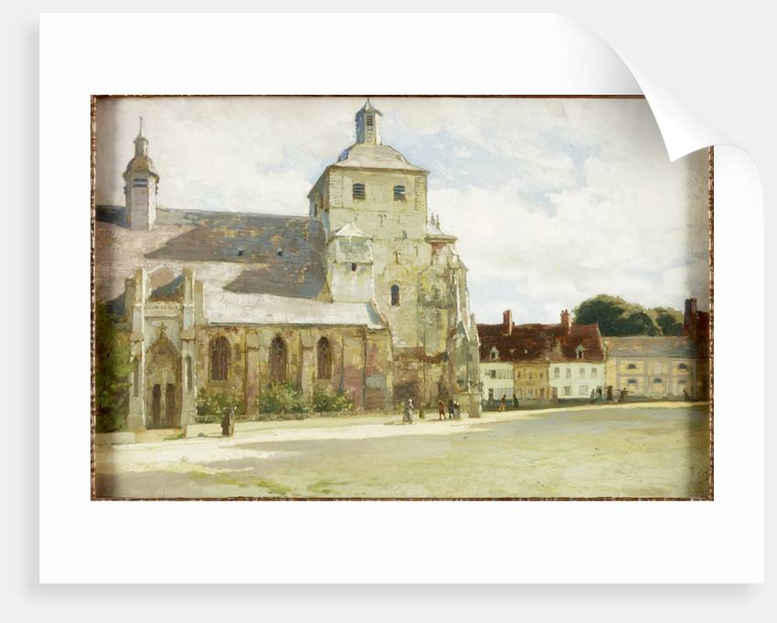 Church at Montreuil-sur-mer by James Clark