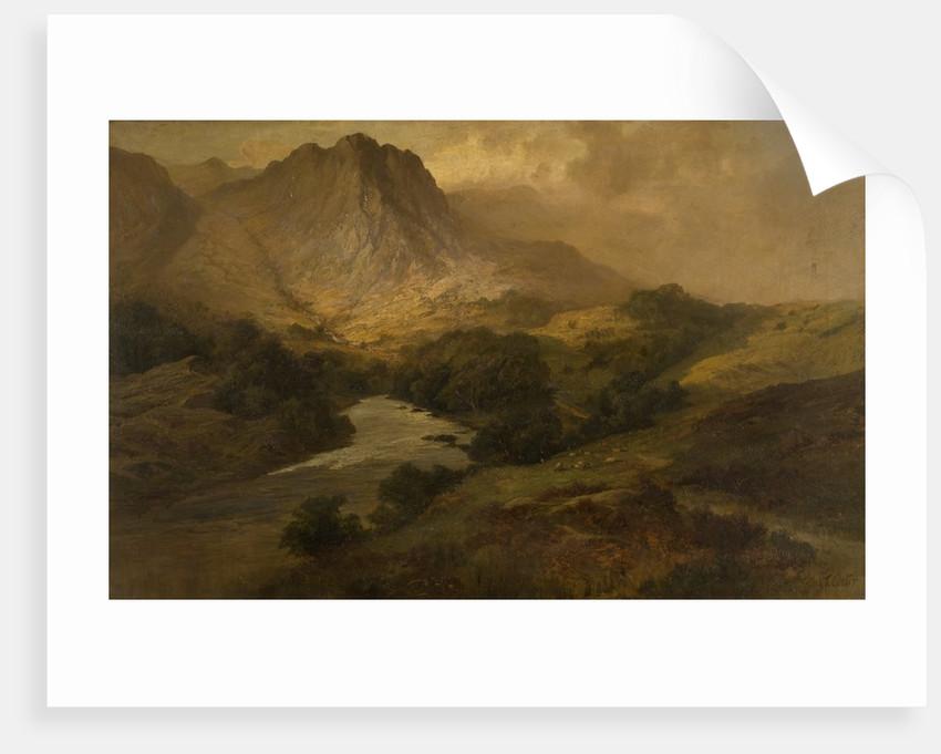 Eel Crag, Borrowdale by Frank Thomas Carter
