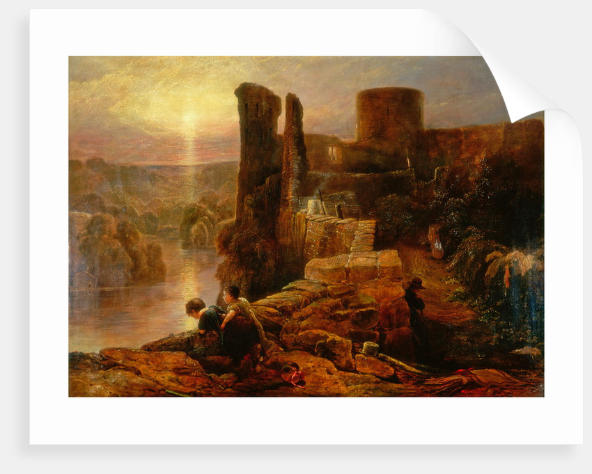 Barnard Castle by Thomas Miles Richardson Senior