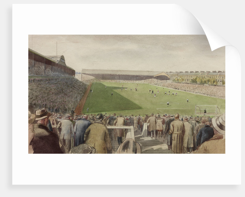 St James' Park Football Ground, Newcastle upon Tyne by Byron Eric Dawson
