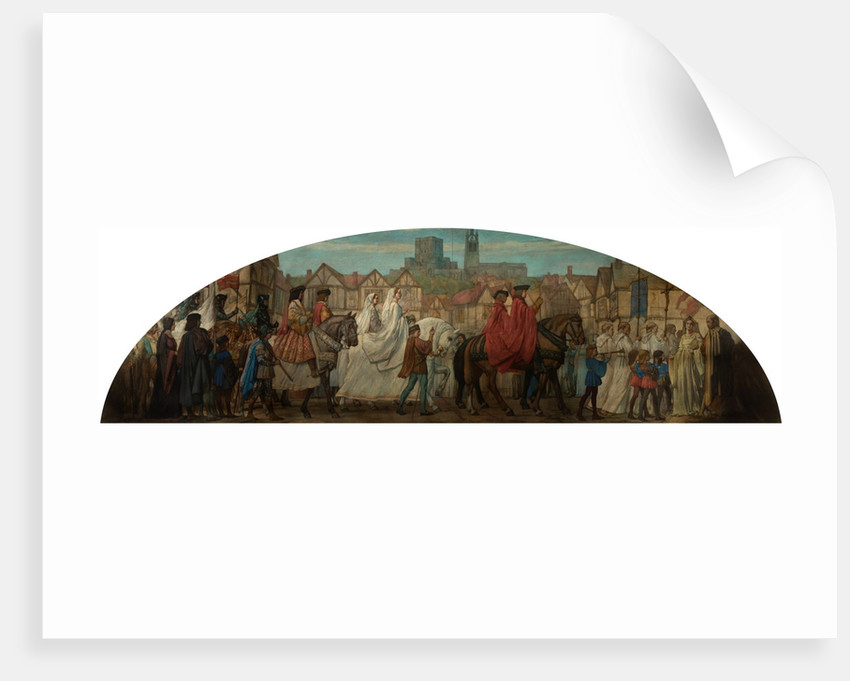 Entry of Princess Margaret into Newcastle upon Tyne, 1503 by Bullock