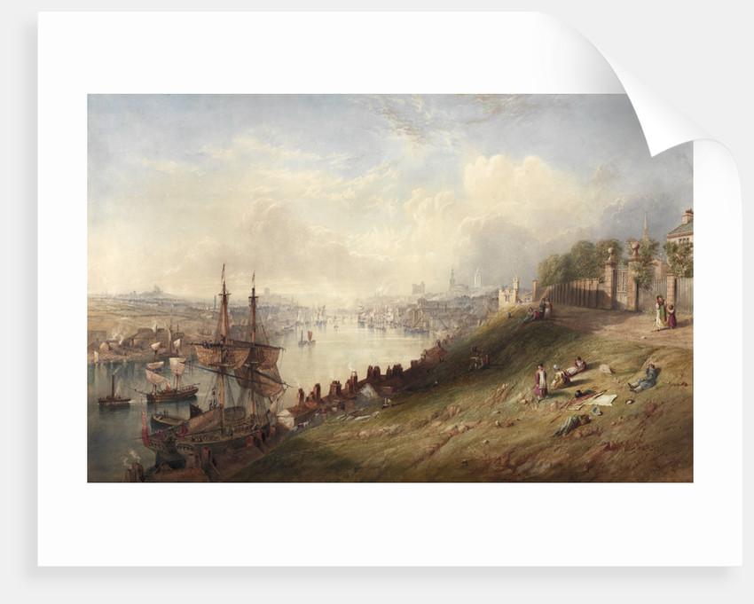 Newcastle from St Anne's by John Wilson Carmichael