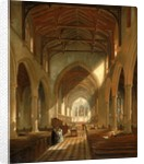 Interior of St Peter's Church, Newcastle upon Tyne by John Wilson Carmichael