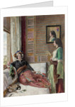 Hhareem Life - Constantinople by John Frederick Lewis