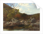 A Trout Stream by Thomas Creswick