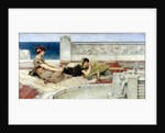 Love in Idleness by Sir Lawrence Alma-Tadema