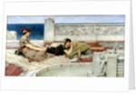Love in Idleness by Sir Lawrence Alma-Tadema
