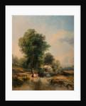 Landscape by Thomas Creswick