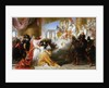 Athaliah's Dismay at the Coronation of Joash by Solomon Alexander Hart