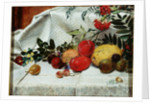 Study of Flowers and Fruit by William Bell Scott