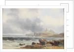 Dunstanburgh Castle by George Balmer