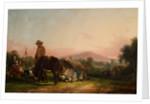 Gypsy Encampment by William Sr Shayer