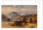 Highland Lake Scene by Thomas Miles Richardson Junior