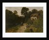 Landscape with Cottage and Figures by George Vicat Cole