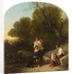 Landscape with Figures by Isaac Henzell