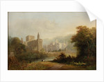 Brinkburn Grange and Ruins of Priory by John Wilson Carmichael
