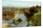 An October Flood, Ludlow by Thomas Bowman Garvie