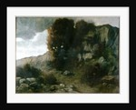 Landscape by Alphonse Legros