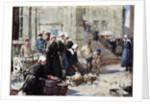 Butter Market, Concarneau by William Lee-Hankey