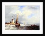 Coast Scene by John Wilson Carmichael