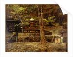 Japanese Shrine by Frederick Yates