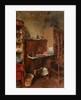 Interior Study by Henry Straker