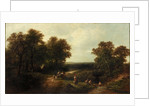 Landscape with Figures by George Cole