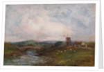 Landscape with Windmill by John Falconar Slater