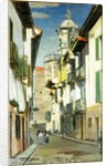 A Street in Fuenterrabia by William York MacGregor
