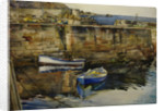 Idle Boats, St Abb's Harbour, Berwickshire by Dorothy Carr