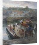 Crossing Hylton Ferry by Ralph Hedley