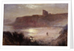 Moonlight - Tynemouth Priory by Robert Jobling