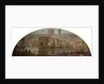 Newcastle upon Tyne from Gateshead - The Great Flood, AD 1771 by Robert John Scott Bertram