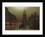St Nicholas Street, Newcastle upon Tyne by Louis Hubbard Grimshaw