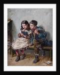 In School by Ralph Hedley