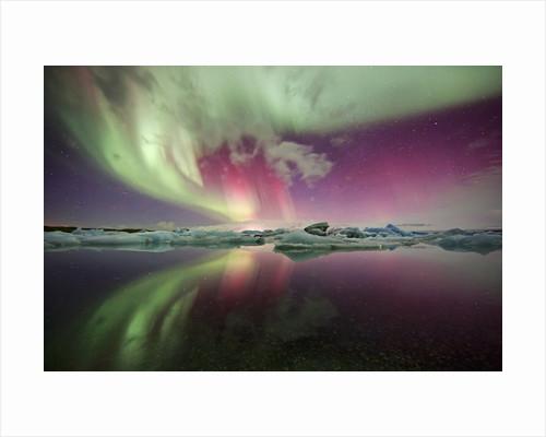 Ice aurora by Ellen Anon