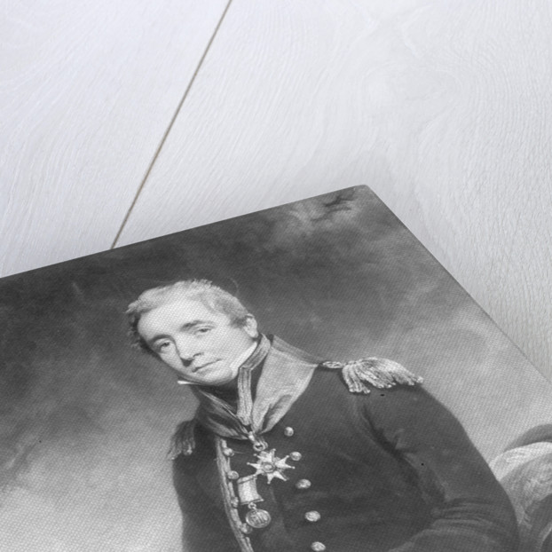 Captain Sir Christopher Cole, R.N. K.C.B. Colonel of Marines by William Owen