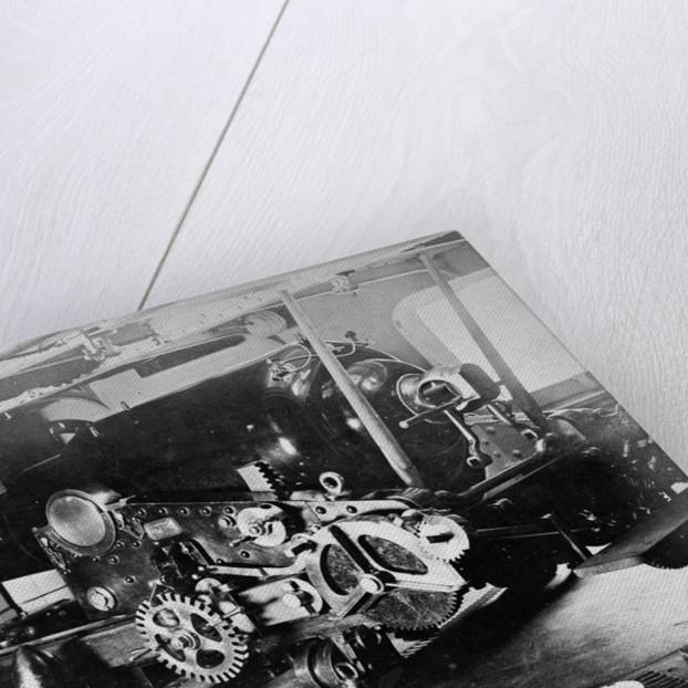 Photograph of stern 9 inch gun of HMS Shah circa 1878 by unknown