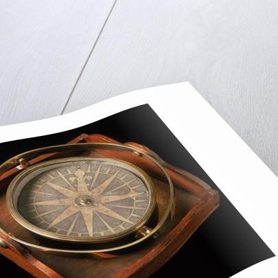 Steering Compass made by George Adams ca.1766 by George Adams