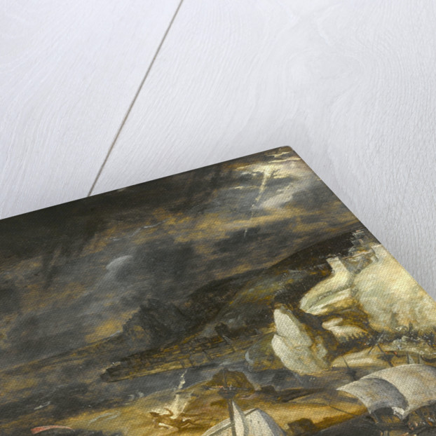 The fall of Lucifer by Herri met den Bles