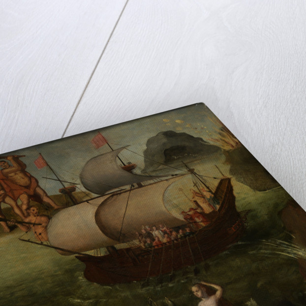 Allegory: the ship of state by Frans Franken the Elder