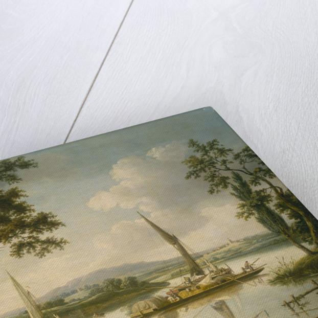The Thames at Shillingford by John Thomas Serres