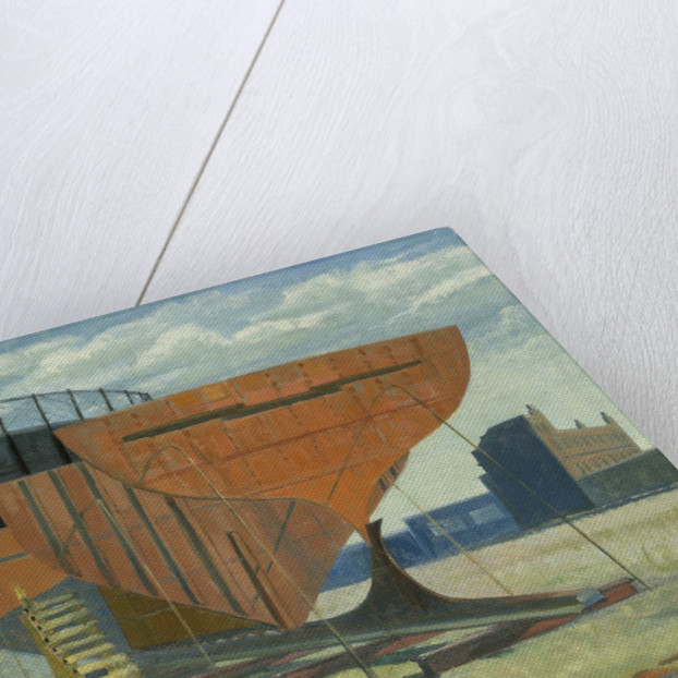Shipbuilding at Greenwich by Anne Christopherson
